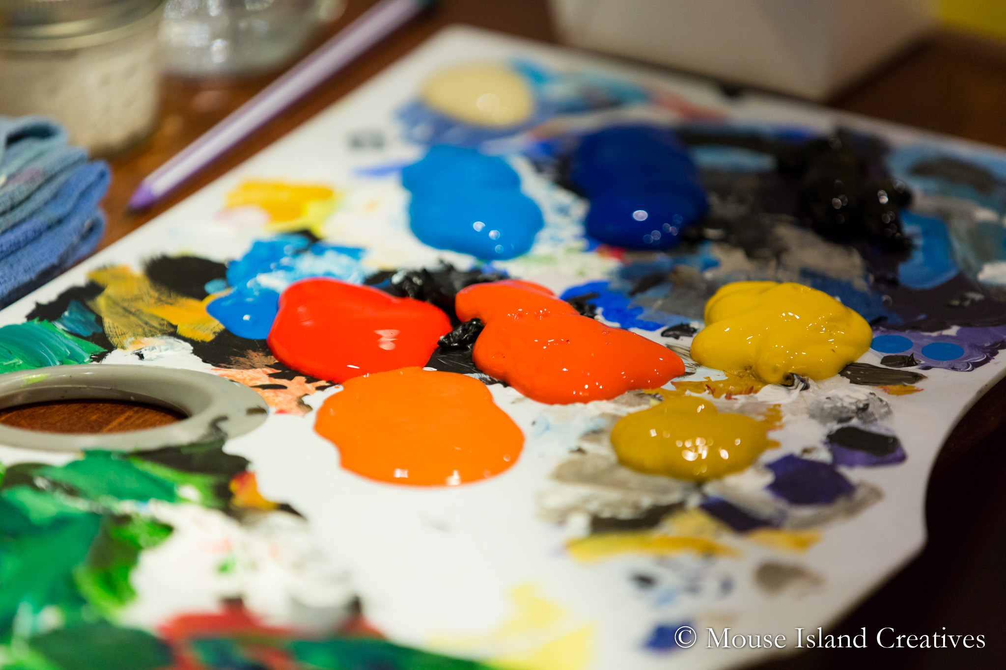 Wintergreen Arts Center Event Photography | Presque Isle, Maine | Brews & Brushes
